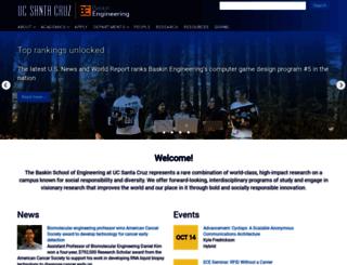 soe.ucsc.edu screenshot