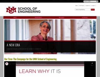 soe.unm.edu screenshot