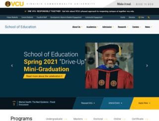 soe.vcu.edu screenshot