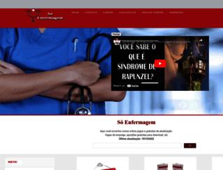 soenfermagem.net screenshot