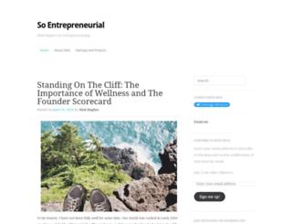 soentrepreneurial.com screenshot