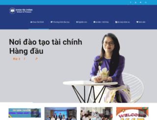 sof.ueh.edu.vn screenshot