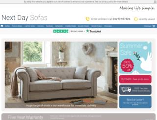 sofabed-collection.co.uk screenshot