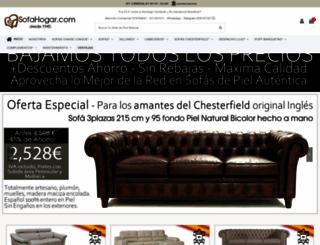 sofahogar.com screenshot