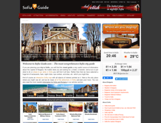sofia-guide.com screenshot