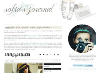 sofiasjournal.com screenshot