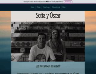 sofiayoscar.com screenshot
