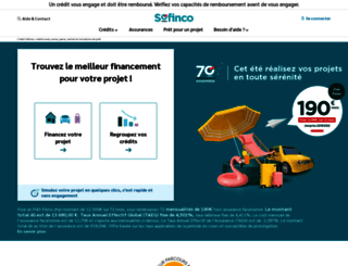 sofinco.fr screenshot