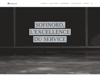 sofinord.fr screenshot