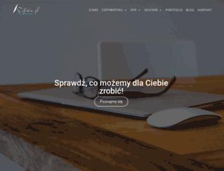 sofista.pl screenshot