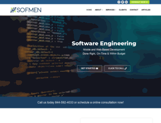 sofmen.com screenshot
