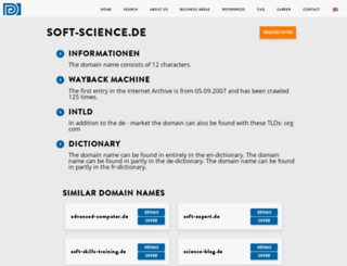 soft-science.de screenshot