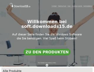 soft.downloads15.de screenshot