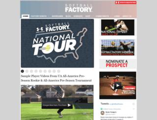 softballfactory.com screenshot