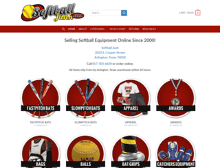 softballjunk.com screenshot