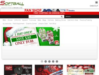 softballsales.com screenshot
