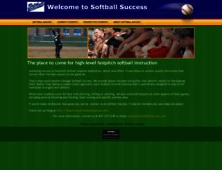 softballsuccess.com screenshot
