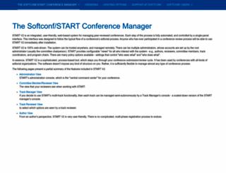 softconf.com screenshot