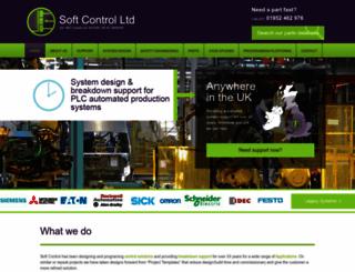 softcontrol.co.uk screenshot