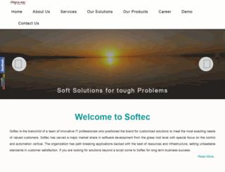 softec.in screenshot
