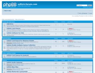 softick-forum.com screenshot