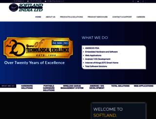 softlandindia.co.in screenshot