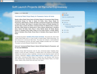 softlaunchprojectsonyamunaexpressway.blogspot.in screenshot