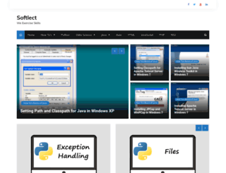 softlect.com screenshot