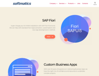 softmatics.com screenshot