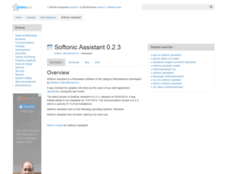 softonic-assistant.updatestar.com screenshot
