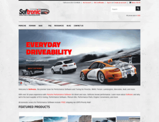 softronicsoftware.com screenshot