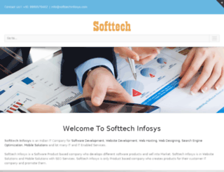 softtechinfosys.com screenshot