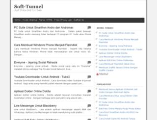 softtunnel.blogspot.com screenshot