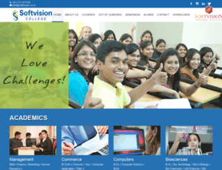 softvision.co.in screenshot