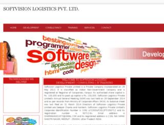 softvisionlogistics.in screenshot