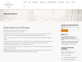 software-dungeon.co.uk screenshot