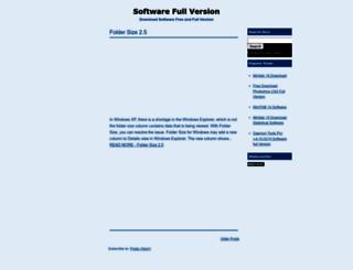 software-nanono.blogspot.com screenshot