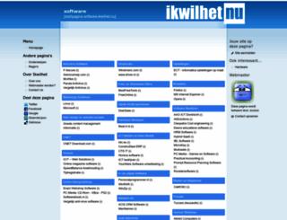 software.ikwilhet.nu screenshot