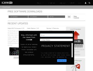 software.line6.net screenshot