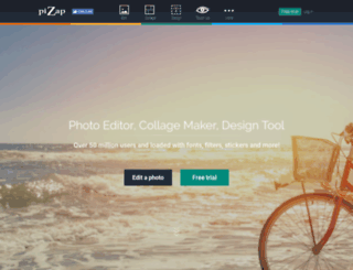 software.pizap.com screenshot