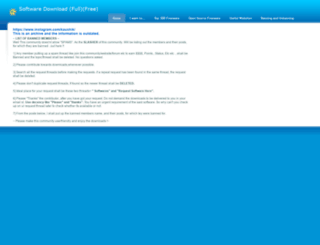 software.weebly.com screenshot