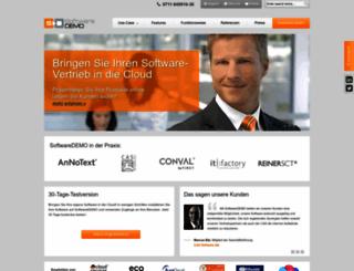 softwaredemo.com screenshot