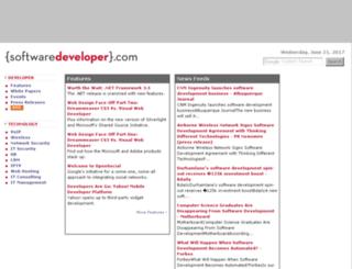 softwaredeveloper.com screenshot