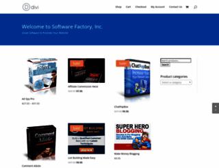softwarefactoryinc.com screenshot
