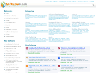 softwaregeek.com screenshot