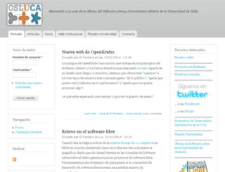 softwarelibre.uca.es screenshot
