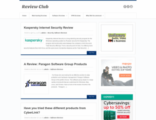 softwarereviewclub.com screenshot