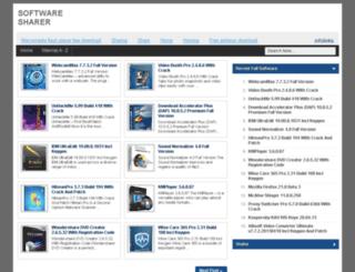 softwaresharer.blogspot.com screenshot