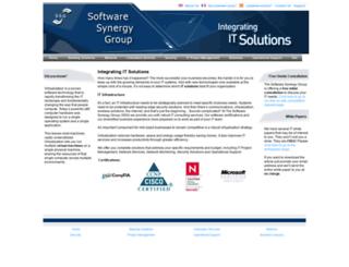 softwaresynergy.com screenshot