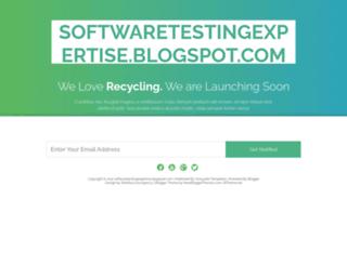 softwaretestingexpertise.blogspot.com screenshot